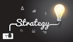 Speel met een strategie